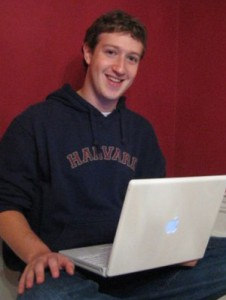 Mark Zuckerberg, Gründer von Facebook. Foto: www.wikipedia.de / Elaine and Priscilla Chan.