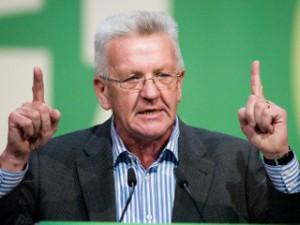 Winfried Kretschmann - grün-roter Ministerpräsident in Baden-Württemberg gewählt. Foto: www.gruene.de