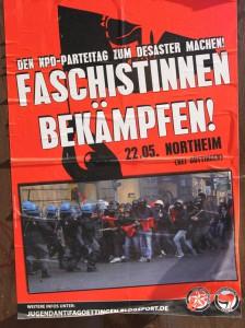 Faschistinnen bekämpfen - was für ein Unsinn.